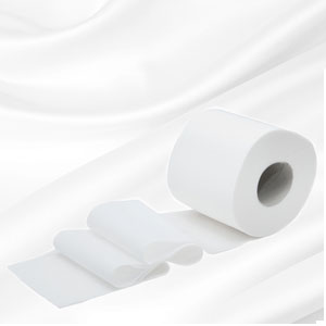 Natural Sustainable Toilet Roll Paper Tissue Made From 100% Bamboo ...
