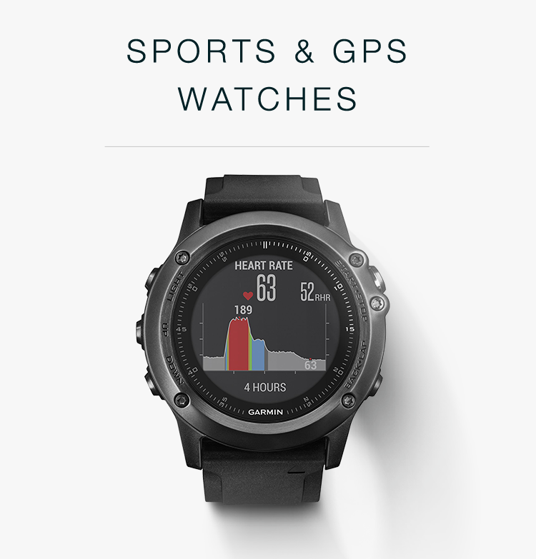 Sports & GPS Watches