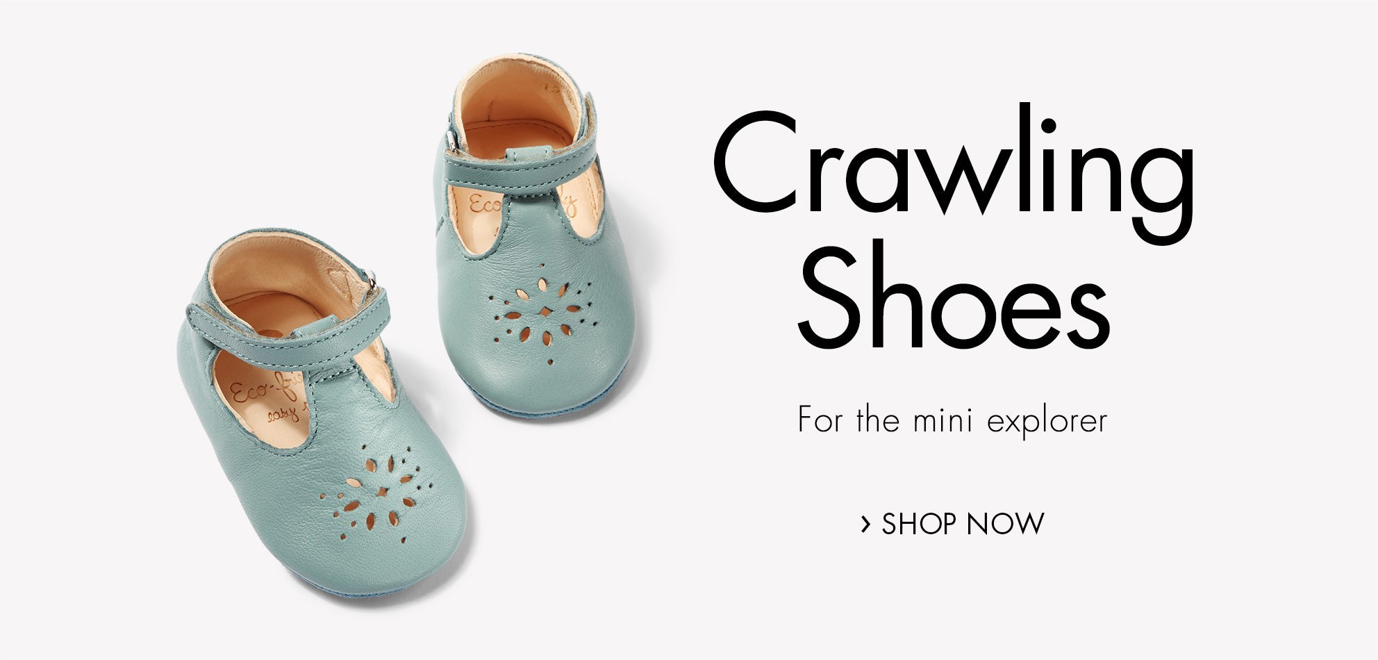 Crawling shoes