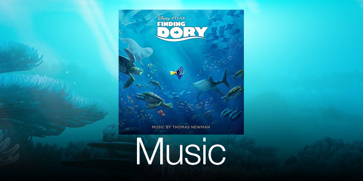 Finding Dory Music