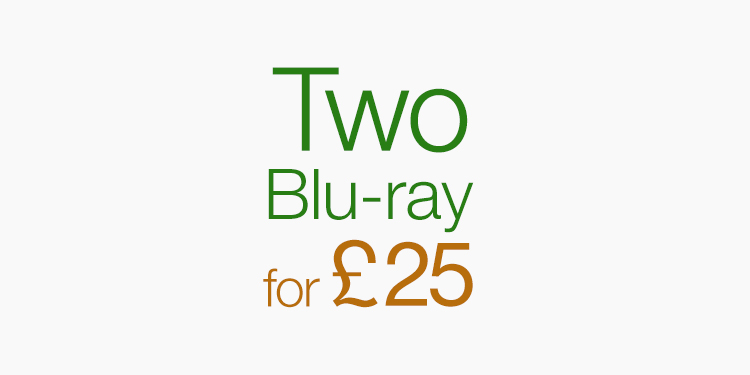 Two Blu-ray for £25