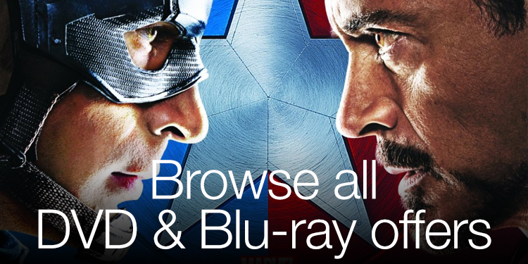 Browse all DVD & Blu-ray Offers