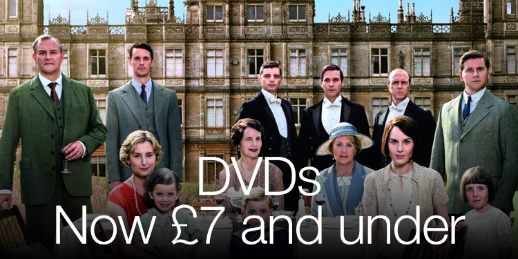 DVD now £7 and under