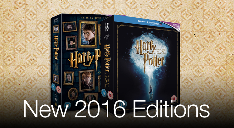 New 2016 Harry Potter Editions