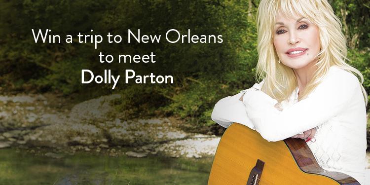 Win a trip to meet Dolly Parton