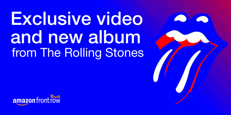 The Rolling Stones for Amazon Front Row