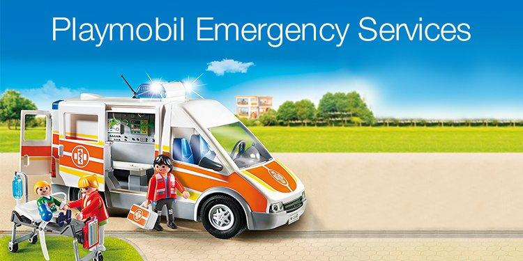 Playmobil Emergency Services