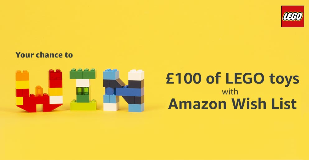 Chance to Win £100 of LEGO