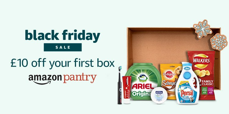 £10 off your first box with Amazon Pantry