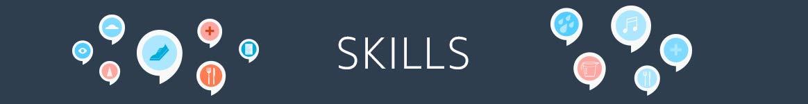 Skills: useful skills and how to create your own