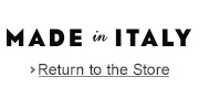 Return to the Store -- Made in Italy