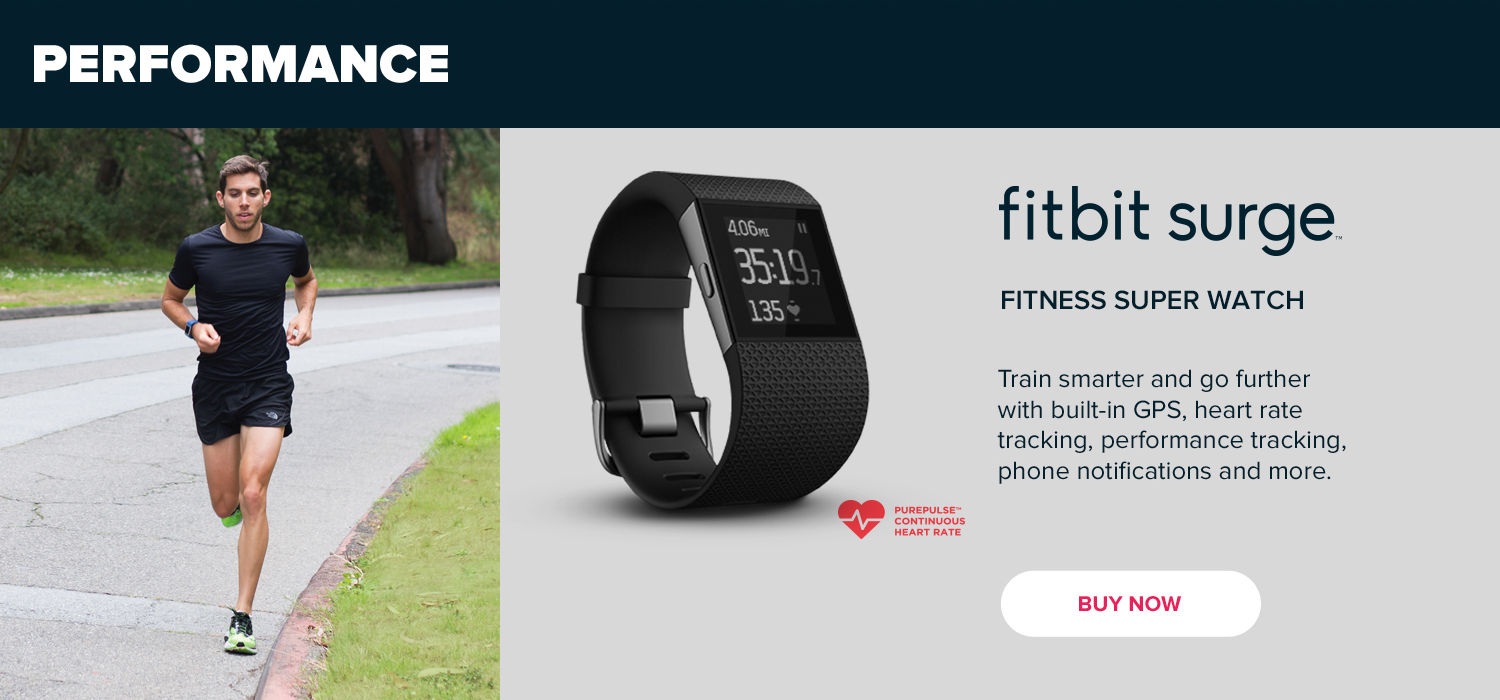 Performance - Fitbit Surge