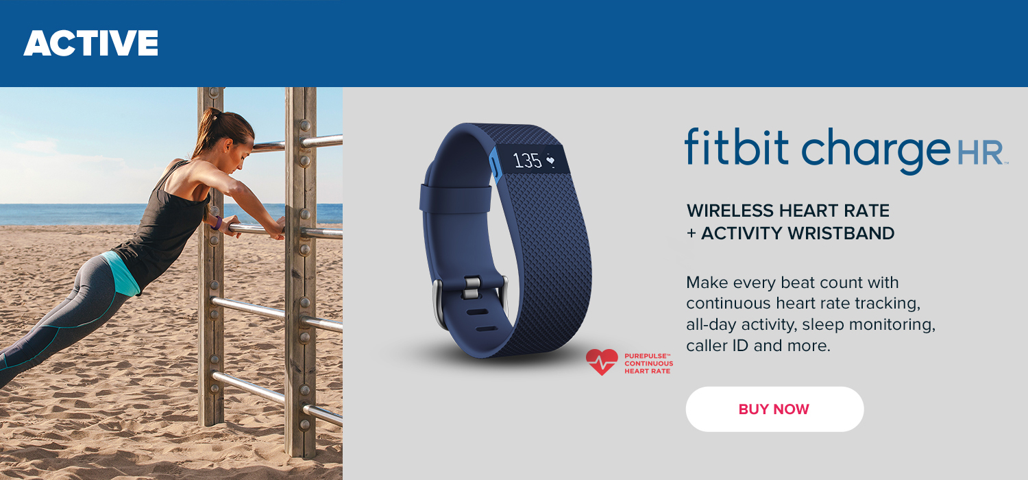 Active - Fitbit Charge HR