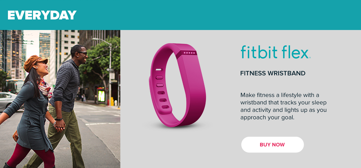 Everyday - Fitbit Flex