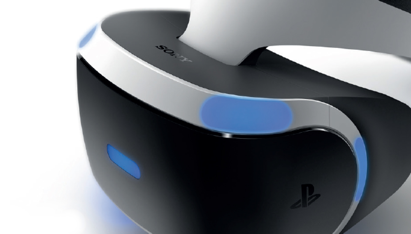 Image of a PlayStation VR Headset