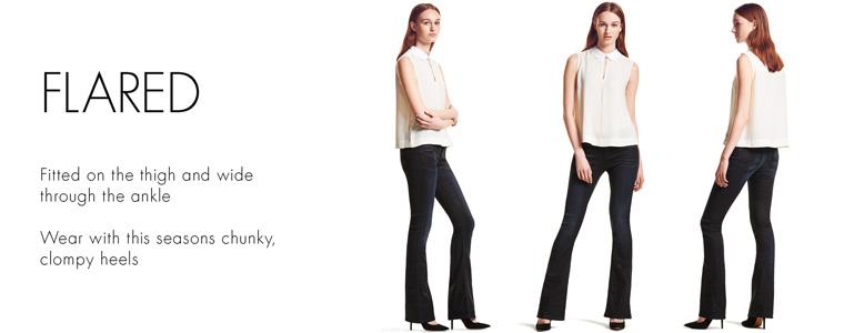 Women's Flared Jeans