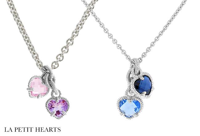 Amazon judith ripka store jewellery judith ripka heart necklaces aloadofball Images