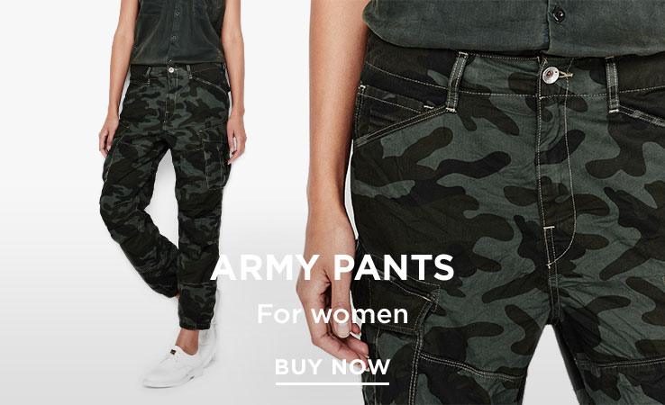 G-Star Army Pants for Women