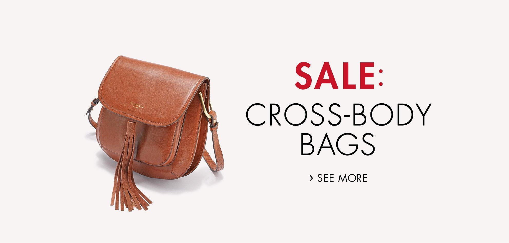 Sale: Cross-Body Bags