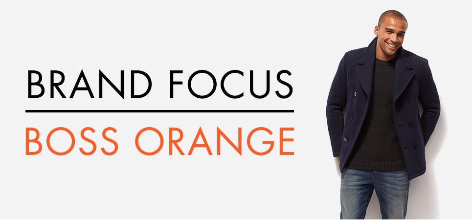 Brand Focus: BOSS Orange