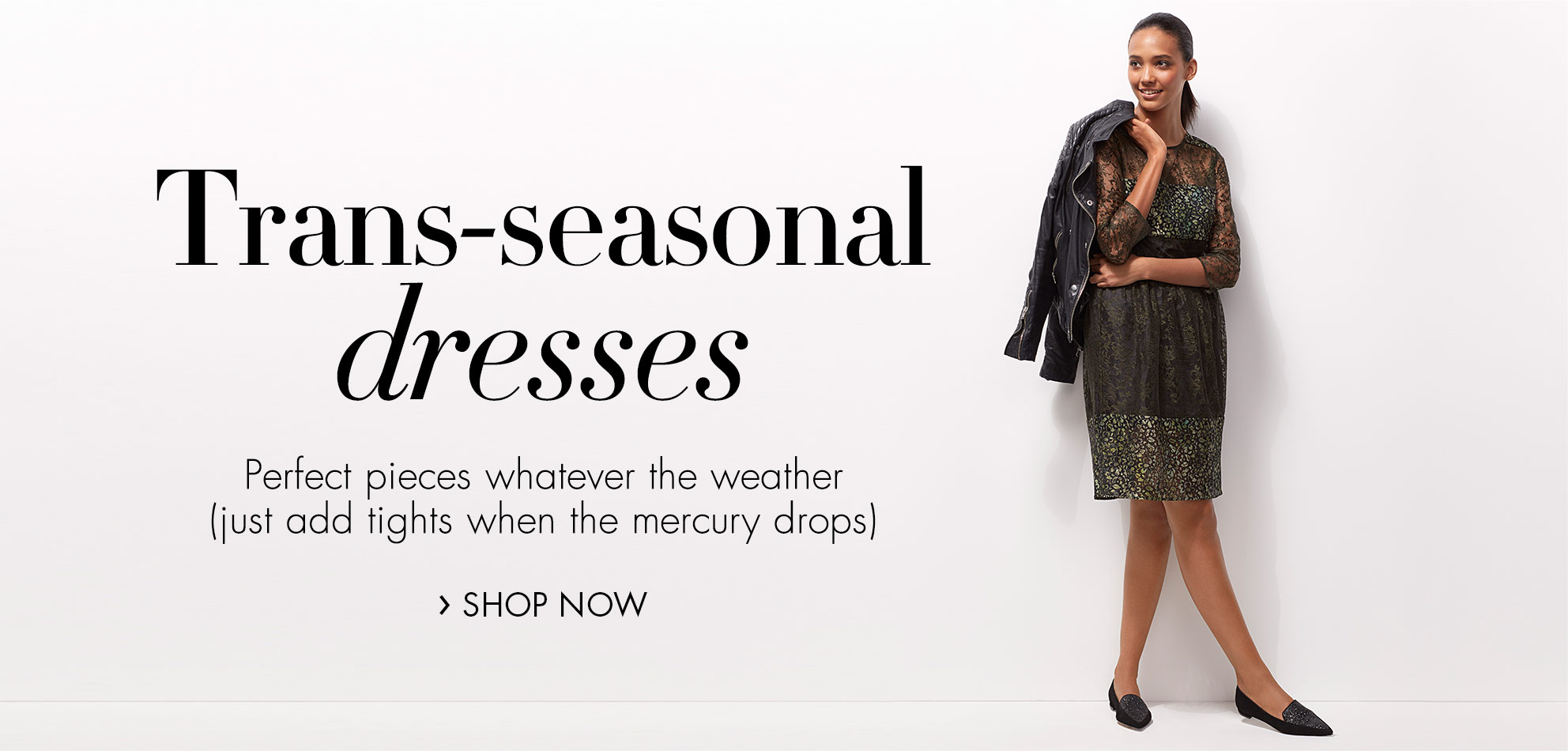 Trans-seasonal dresses