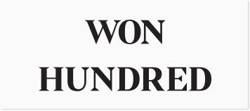 Won Hundred