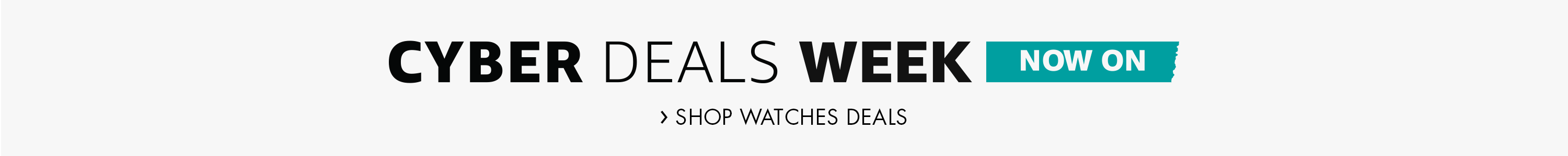 Cyber Monday Watches Deals