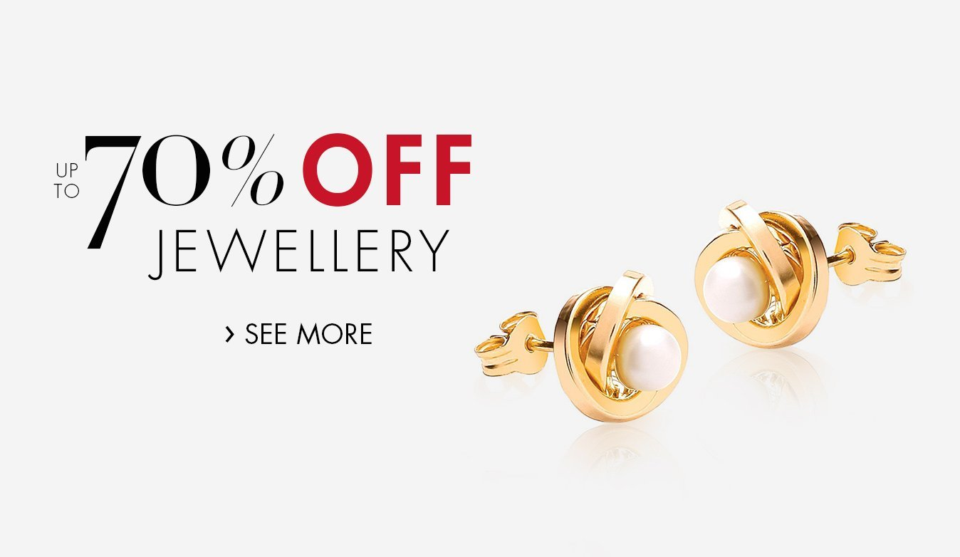 Up to 60% Off Jewellery