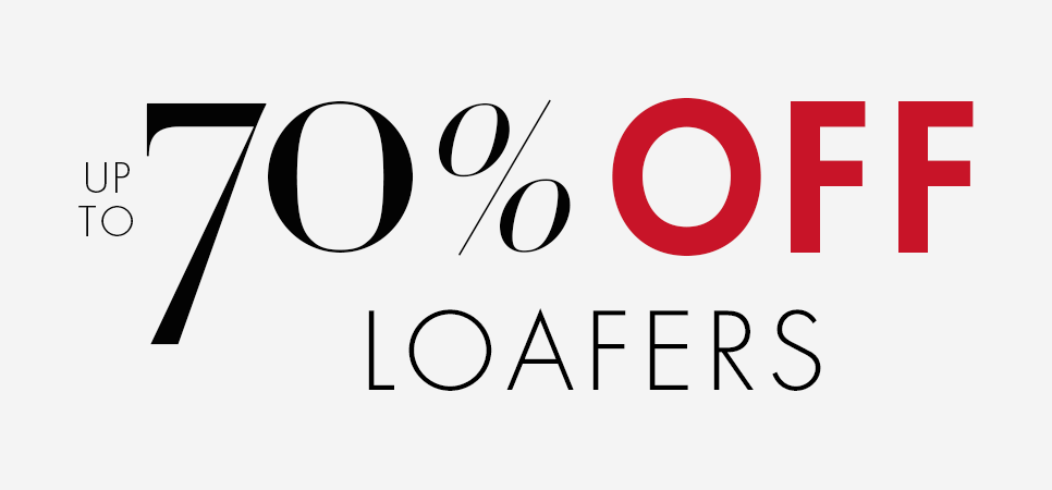 Up to 70% Off Loafers
