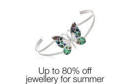 Up to 80% off jewellery for summer