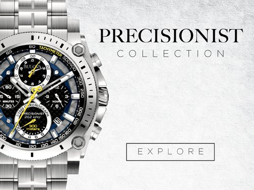 Bulova Watches - Precisionist
