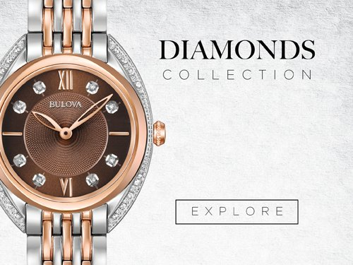 Bulova Watches - Diamonds
