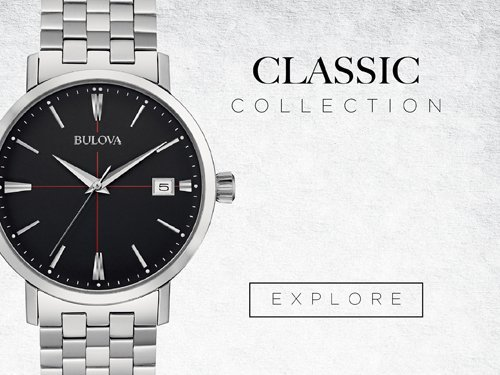 Bulova Watches - Classics