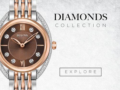 Bulova Watches - Diamonds