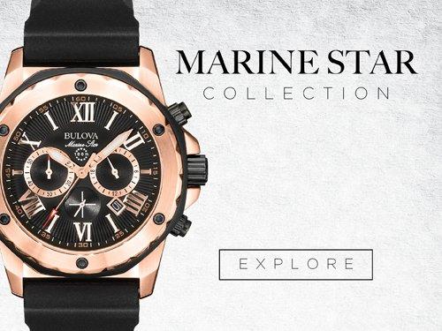 Bulova Watches - Marine star