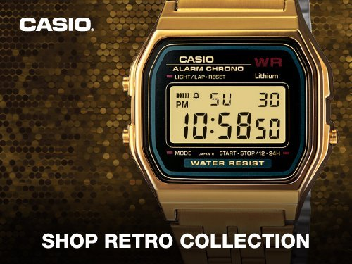 0433dee43fd Casio Retro Style Watches