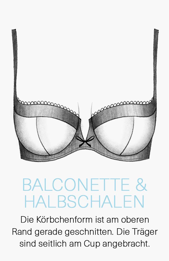 Balconette & Demi-Cup