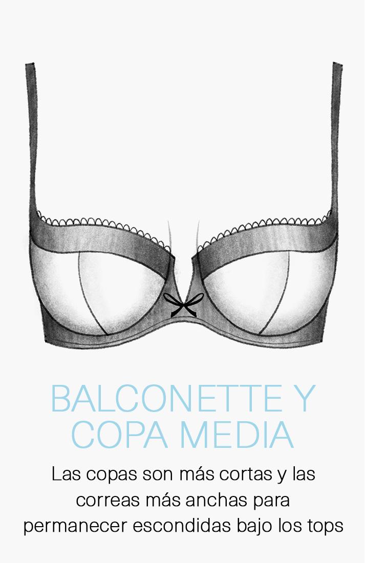 Balconette & copa media