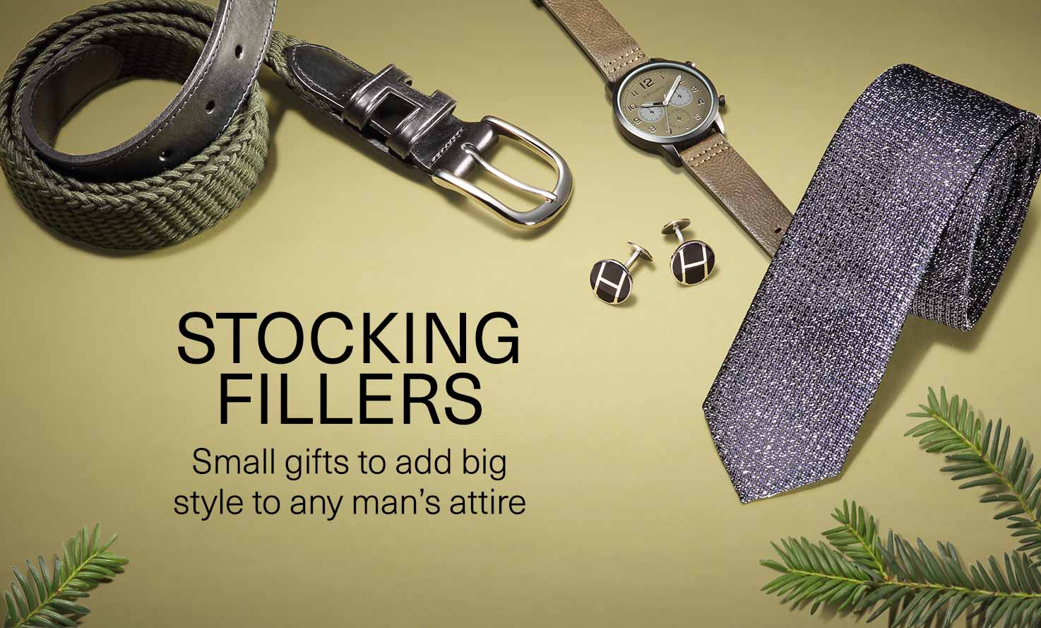 Stocking fillers: Small gifts to add big style to any man's attire