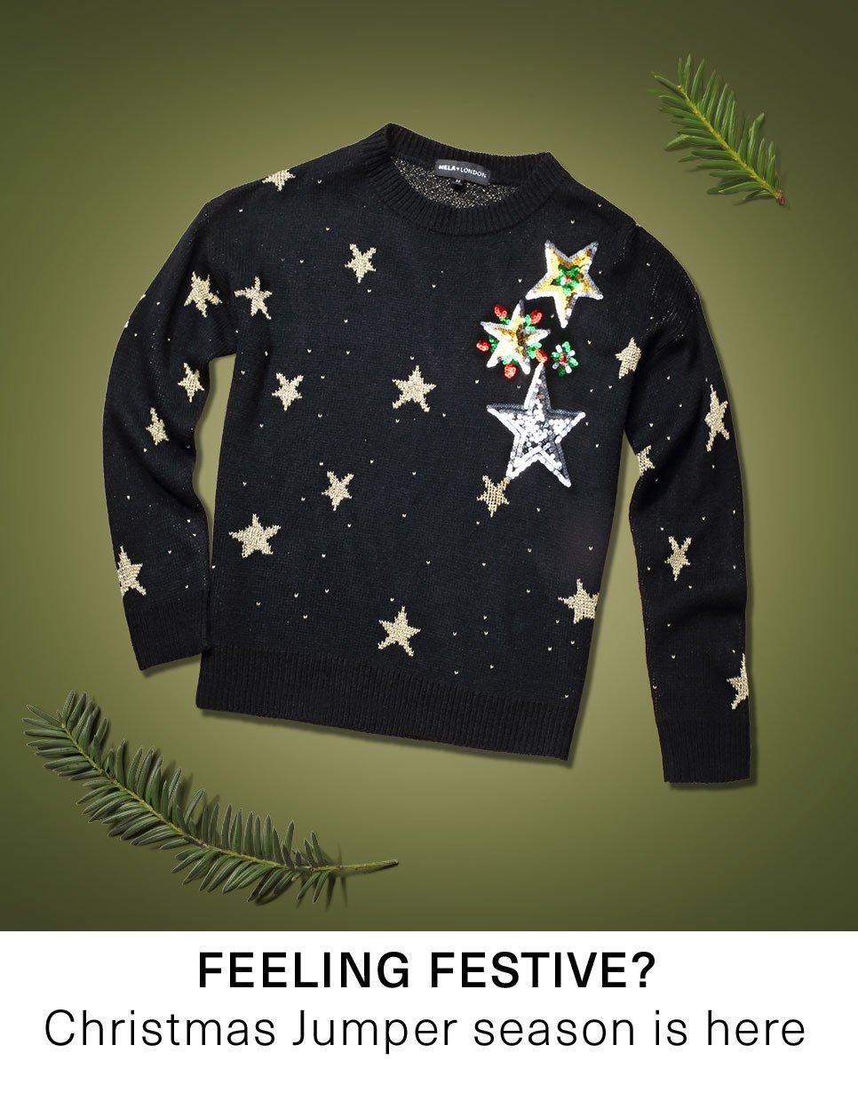 Feeling festive? Christmas jumper season is here