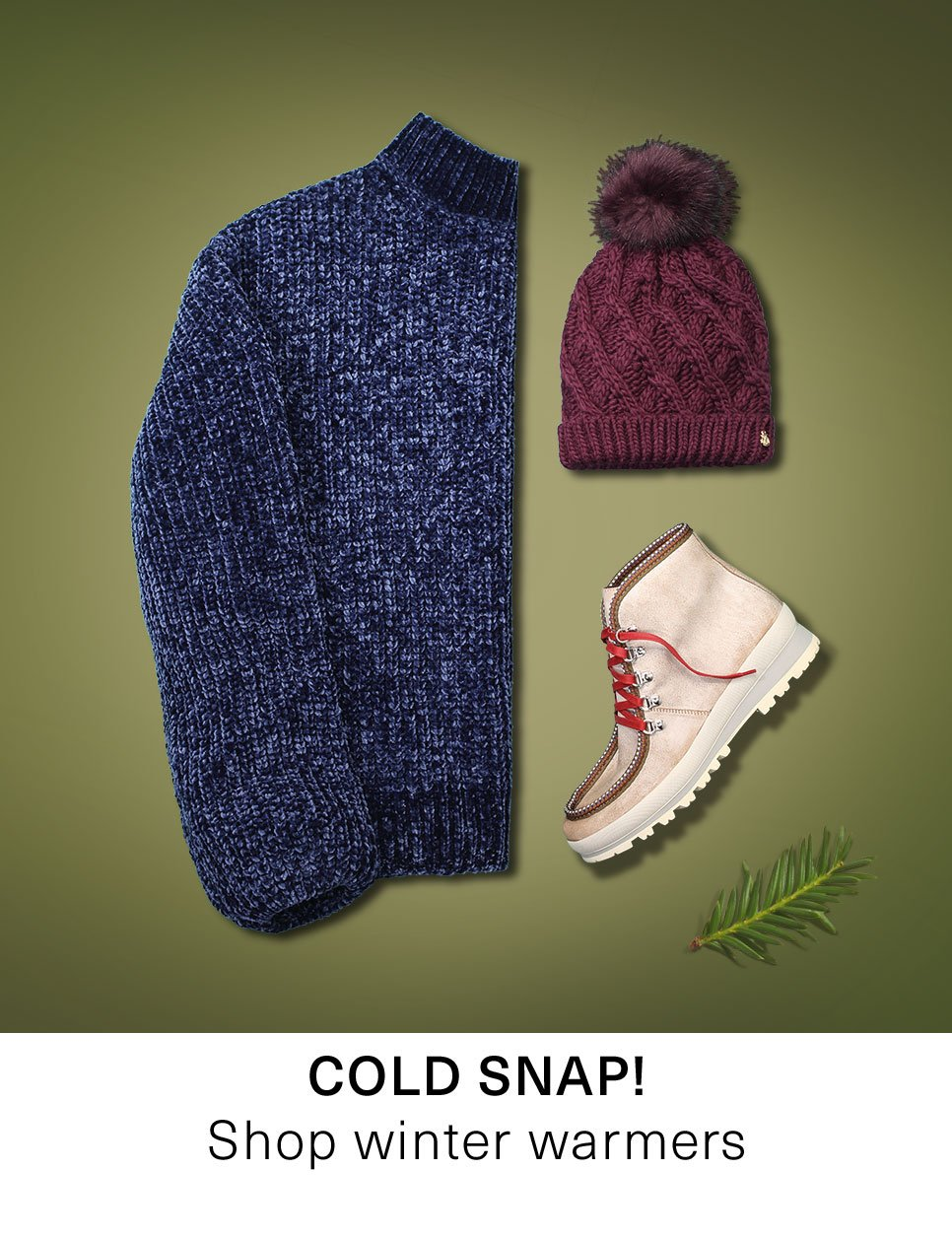 Cold snap: Shop winter warmers