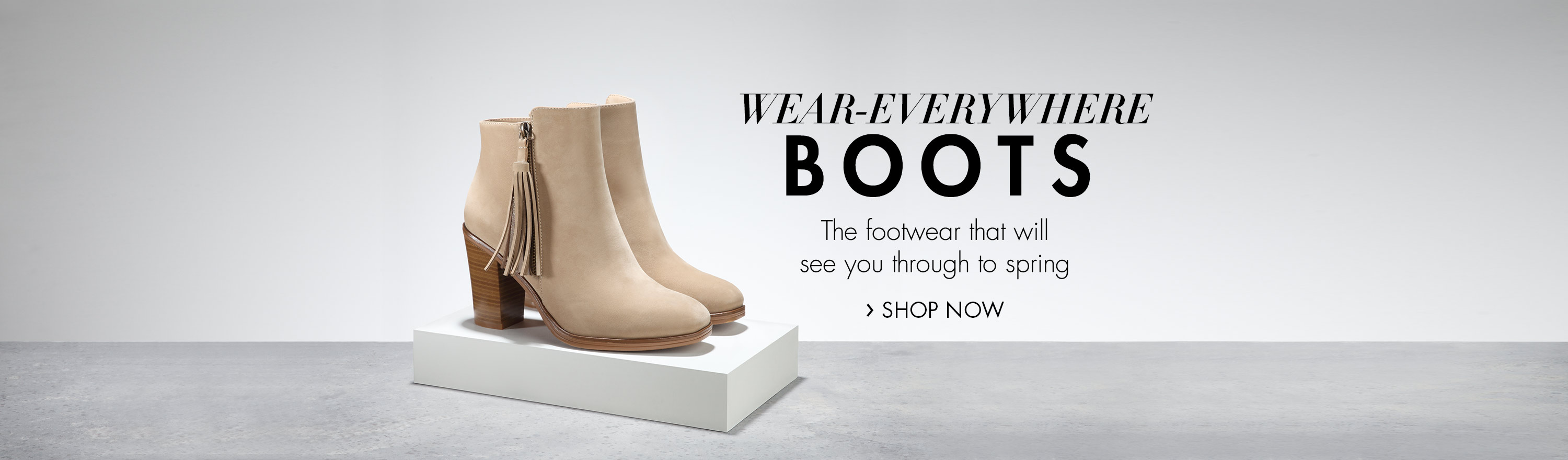 Wear-everywhere boots