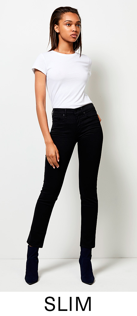 Women's Jeans. Skinny · Slim