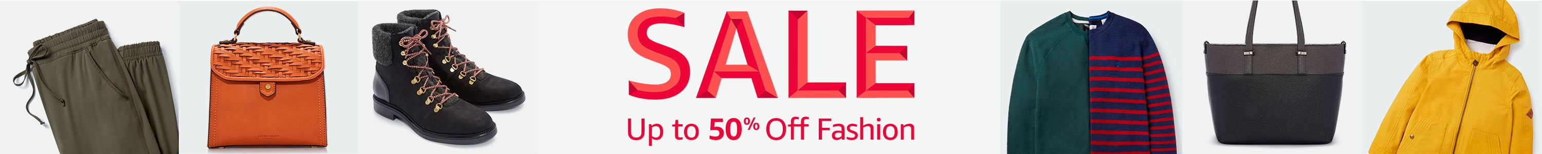Fashion Sale: up to 50% off