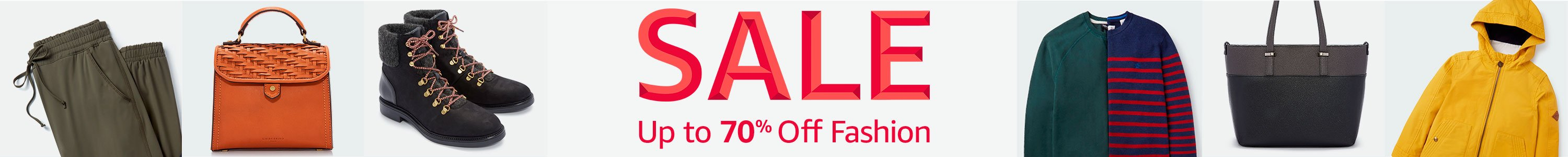 Fashion Sale: up to 70% off