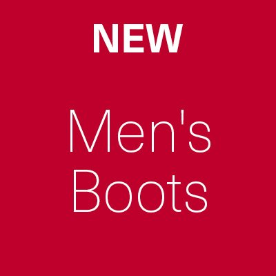 New Sale Lines Added - Men's Boots