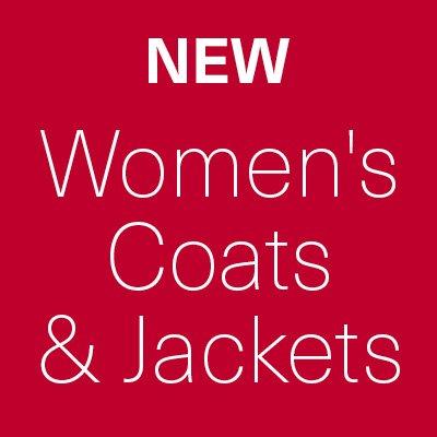 New Sale Lines Added - Women's Coats & Jackets