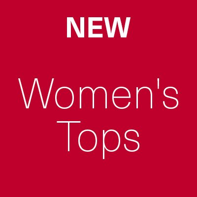 New Sale Lines Added - Women's Tops