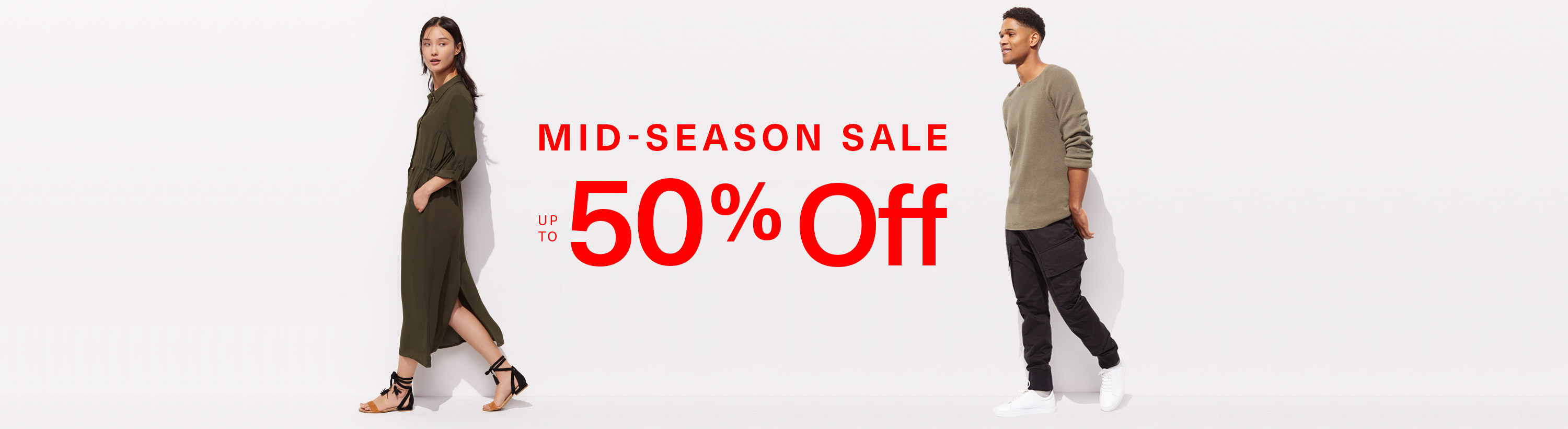 Mid-Season Sale - Up to 50% Off