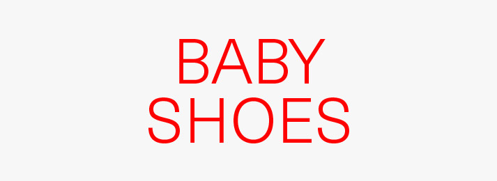 Up to 50% off baby shoes